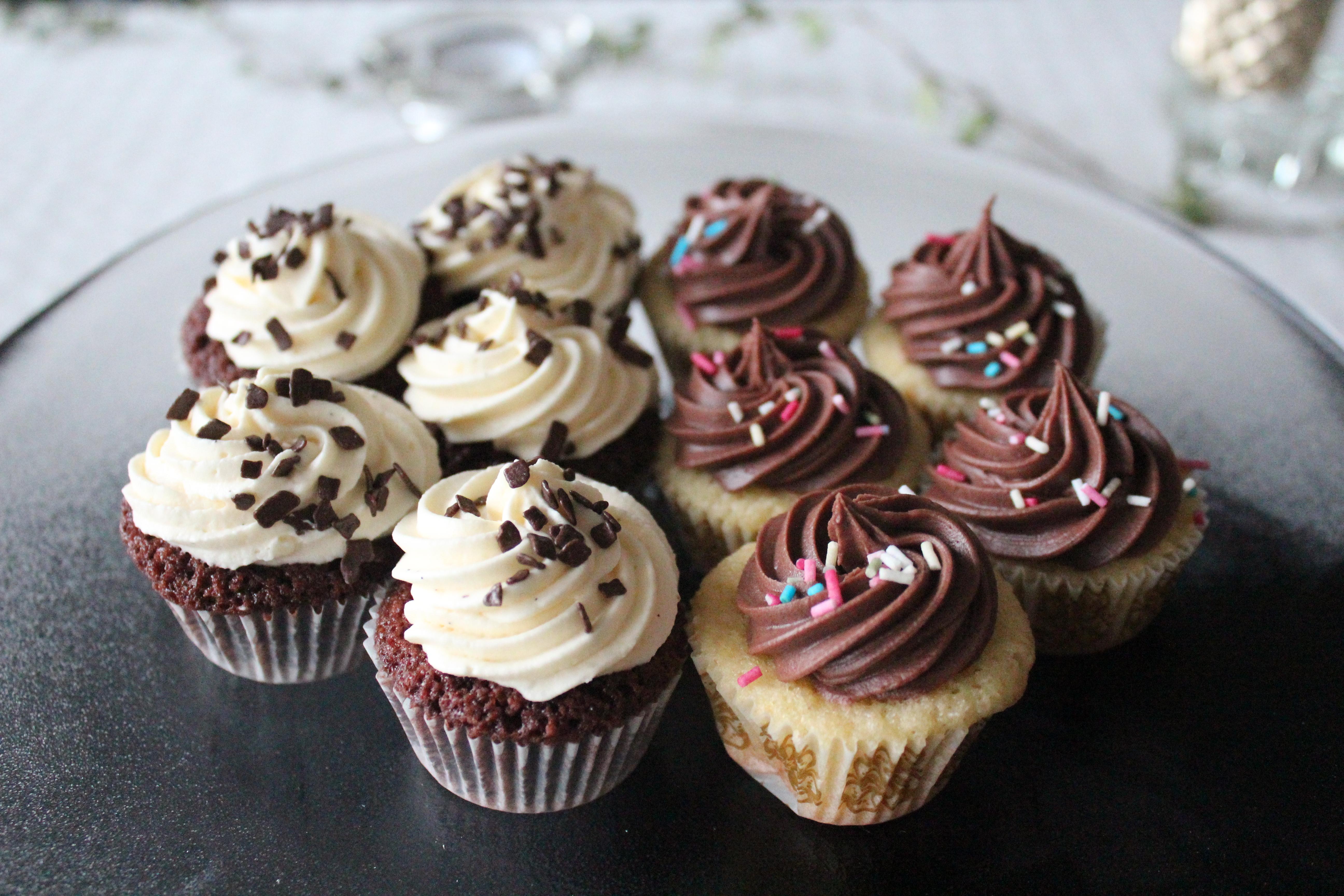 cupcakes choklad recept